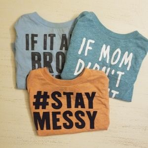 Lot of 3 shirts!
